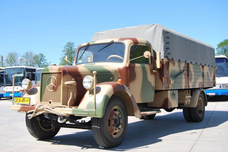 Mercedes benz l 3000 muzeum techniki wojskowej gryf for Mercedes benz under 3000